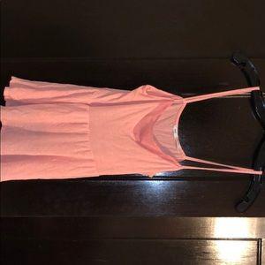 Pink tank, drop waist, Kimchi Blue, size Small